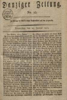 Danziger Zeitung. 1817, No. 13 (23 Januar)