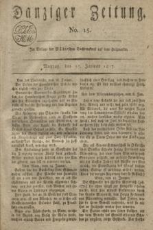 Danziger Zeitung. 1817, No. 15 (27 Januar)