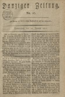 Danziger Zeitung. 1817, No. 17 (30 Januar)
