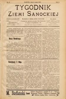 Tygodnik Ziemi Sanockiej. 1910, nr2
