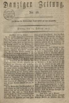 Danziger Zeitung. 1817, No. 26 (14 Februar)