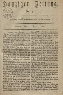 Danziger Zeitung. 1817, No. 31 (24 Februar)