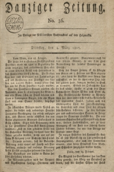Danziger Zeitung. 1817, No. 36 (4 März)