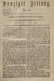 Danziger Zeitung. 1817, No. 38 (7 März)