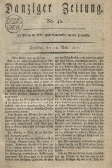 Danziger Zeitung. 1817, No. 40 (11 März)