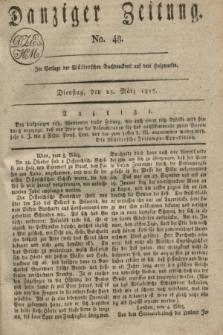Danziger Zeitung. 1817, No. 48 (25 März)