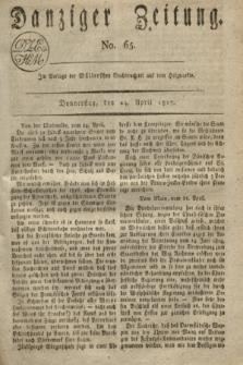 Danziger Zeitung. 1817, No. 65 (24 April)
