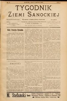 Tygodnik Ziemi Sanockiej. 1910, nr6