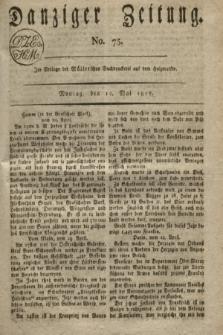 Danziger Zeitung. 1817, No. 75 (12 Mai)