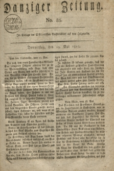 Danziger Zeitung. 1817, No. 85 (29 Mai)