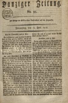 Danziger Zeitung. 1817, No. 93 (12 Juni)