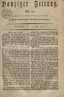 Danziger Zeitung. 1817, No. 97 (19 Juni)