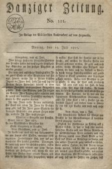 Danziger Zeitung. 1817, No. 111 (14 Juli)