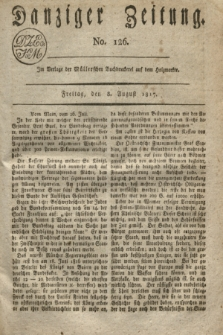 Danziger Zeitung. 1817, No. 126 (8 August)