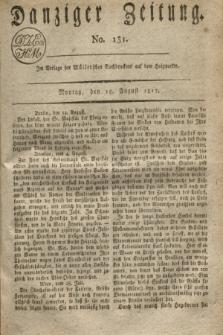 Danziger Zeitung. 1817, No. 131 (18 August)