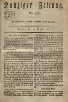 Danziger Zeitung. 1817, No. 132 (19 August)