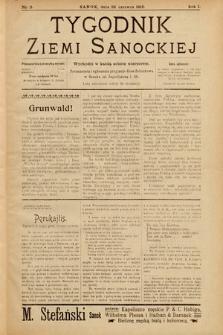 Tygodnik Ziemi Sanockiej. 1910, nr9