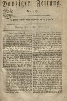Danziger Zeitung. 1817, No. 139 (1 September)