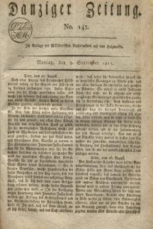 Danziger Zeitung. 1817, No. 143 (8 September)