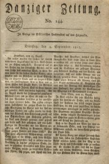 Danziger Zeitung. 1817, No. 144 (9 September)