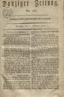 Danziger Zeitung. 1817, No. 160 (7 Oktober)