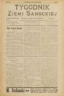 Tygodnik Ziemi Sanockiej. 1910, nr10