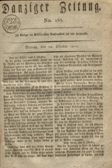 Danziger Zeitung. 1817, No. 167 (20 Oktober)