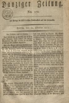 Danziger Zeitung. 1817, No. 170 (24 Oktober)