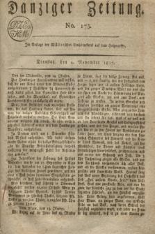 Danziger Zeitung. 1817, No. 175 (4 November)