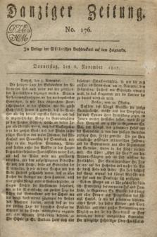 Danziger Zeitung. 1817, No. 176 (6 November)