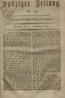 Danziger Zeitung. 1817, No. 179 (11 November)