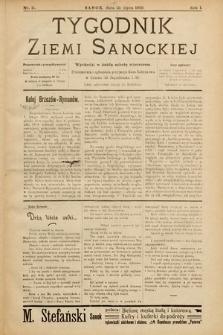Tygodnik Ziemi Sanockiej. 1910, nr11