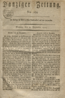Danziger Zeitung. 1817, No. 194 (8 Dezember)