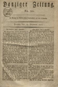 Danziger Zeitung. 1817, No. 201 (19 Dezember)