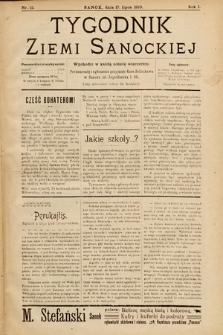 Tygodnik Ziemi Sanockiej. 1910, nr12