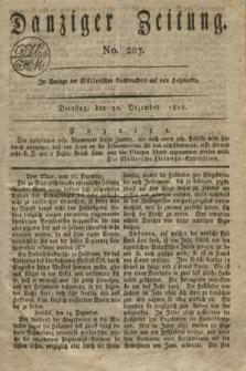 Danziger Zeitung. 1817, No. 207 (30 Dezember)