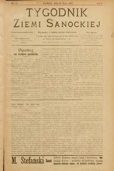 Tygodnik Ziemi Sanockiej. 1910, nr14