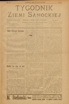 Tygodnik Ziemi Sanockiej. 1910, nr18