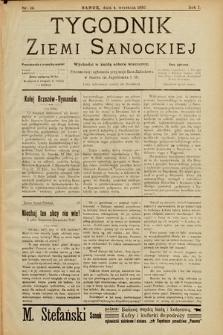 Tygodnik Ziemi Sanockiej. 1910, nr19