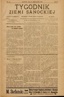 Tygodnik Ziemi Sanockiej. 1910, nr24