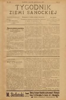 Tygodnik Ziemi Sanockiej. 1910, nr26