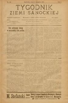 Tygodnik Ziemi Sanockiej. 1910, nr28