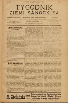 Tygodnik Ziemi Sanockiej. 1910, nr30