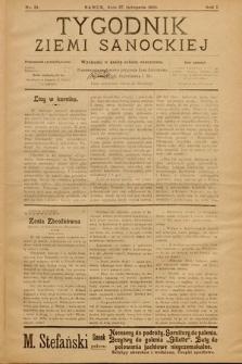 Tygodnik Ziemi Sanockiej. 1910, nr31