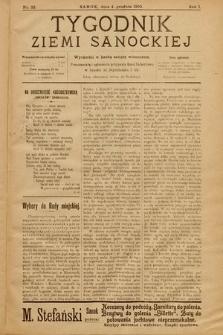 Tygodnik Ziemi Sanockiej. 1910, nr32