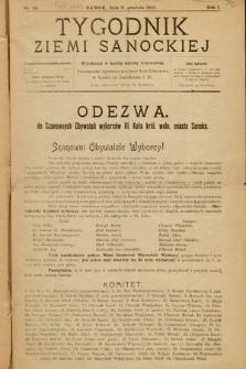 Tygodnik Ziemi Sanockiej. 1910, nr33