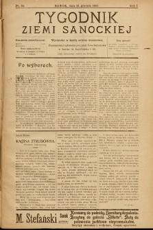 Tygodnik Ziemi Sanockiej. 1910, nr34