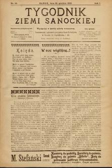 Tygodnik Ziemi Sanockiej. 1910, nr35
