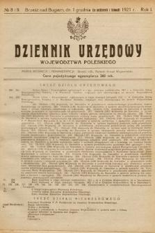 Dziennik Urzędowy Województwa Poleskiego. 1921, nr8-9