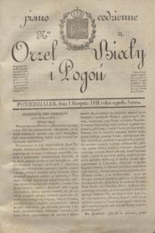 Orzeł Biały i Pogoń: pismo codzienne. 1831, Ner 31 (1 sierpnia)